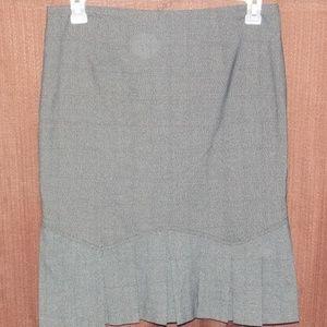 Pleated Work Career Pencil Skirt - Size 11